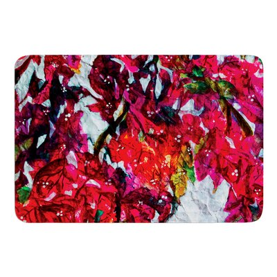 Bougainvillea by Mary Bateman Bath Mat