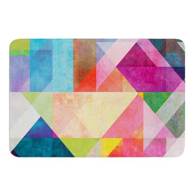 Color Blocking by Mareike Boehmer Bath Mat