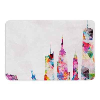 New York by Mareike Boehmer Bath Mat