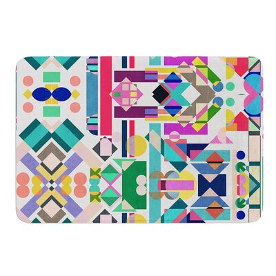 Geometry 2B by Mareike Boehmer Bath Mat