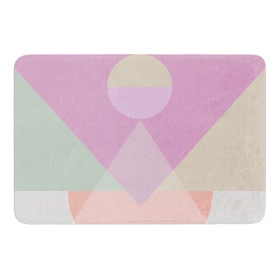Pastel Play 3X by Mareike Boehmer Bath Mat