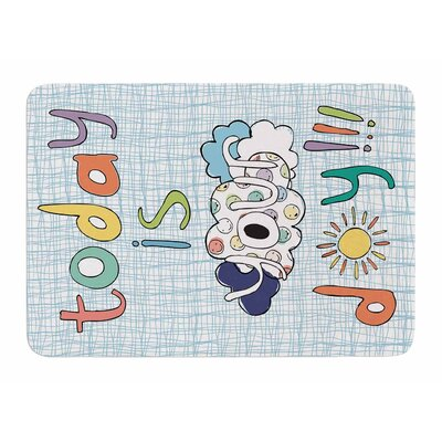 Today Is Your Day by MaJoBV Bath Mat