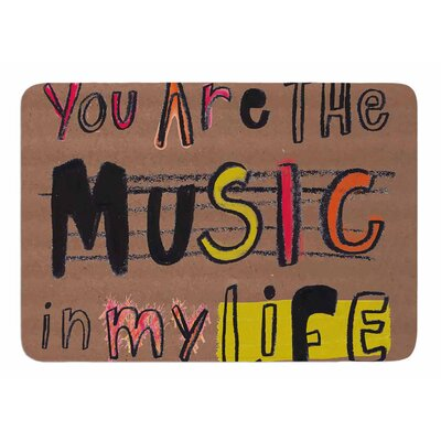 Music In My Life by MaJoBV Bath Mat
