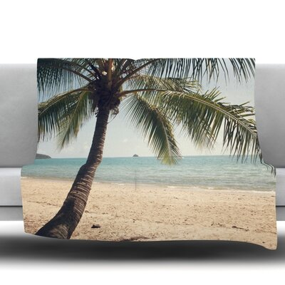Tropic of Capricorn by Catherine McDonald Fleece Throw Blanket Size: 80 L x 60 W