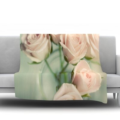Romance by Cristina Mitchell Fleece Throw Blanket Size: 90 H x 90 W