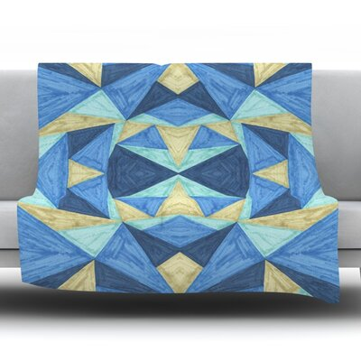 The Blues by Empire Ruhl Fleece Throw Blanket Size: 80 L x 60 W