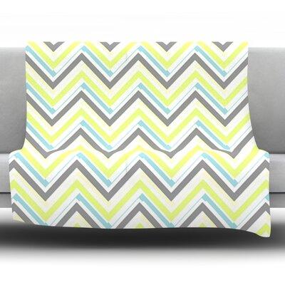 Ideal by CarolLynn Tice Fleece Throw Blanket Size: 60 H x 50 W
