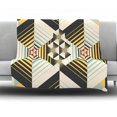 La Plus by Danny Ivan Fleece Throw Blanket Size: 80 H x 60 W