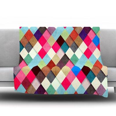 Ubrik by Danny Ivan Fleece Throw Blanket Size: 60 H x 50 W