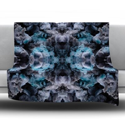 Abyss by Akwaflorell Fleece Throw Blanket Size: 60 L x 50 W
