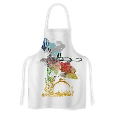 A Little Paradise by Frederic Levy-Hadida Artistic Apron EUBN7364 34025155