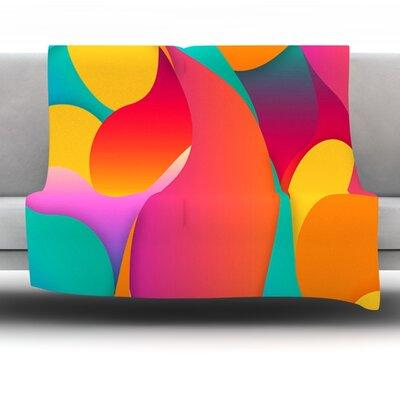 Still Life by Danny Ivan Fleece Throw Blanket Size: 40 H x 30 W