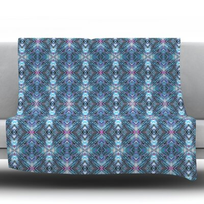Native Pattern by Danii Pollehn Fleece Throw Blanket Size: 80 H x 60 W