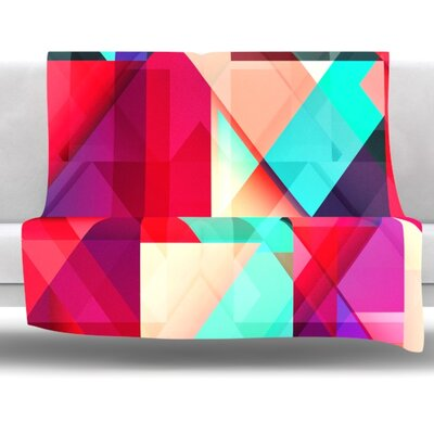 Still New by Danny Ivan Fleece Throw Blanket Size: 60 H x 50 W