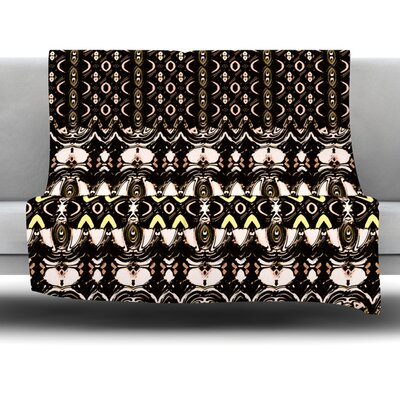 The Palace Walls by Dawid Roc Fleece Throw Blanket Size: 60 L x 50 W