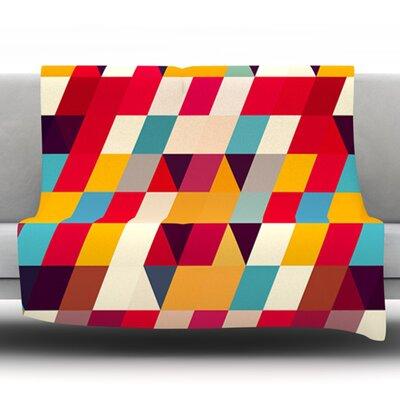 Kyoto by Danny Ivan Fleece Throw Blanket Size: 80 H x 60 W