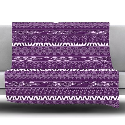 Pattern by Famenxt Fleece Throw Blanket Size: 80 L x 60 W