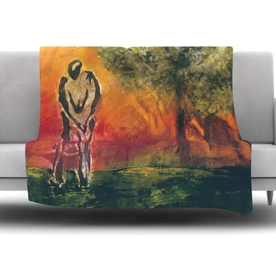 Par by Josh Serafin Fleece Blanket Size: 60 L x 50 W