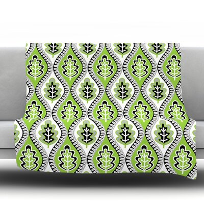 Oak Leaf by Jacqueline Milton 30 Fleece Blanket