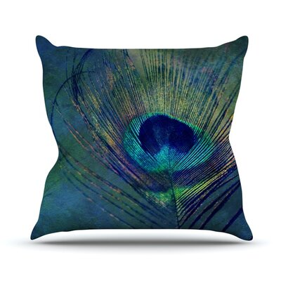 Plume Throw Pillow Size: 26 H x 26 W