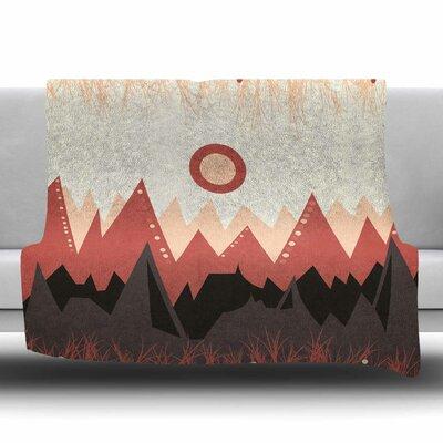 Landscape A. by Viviana Gonzalez Fleece Blanket Size: 80 L x 60 W