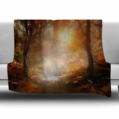 Make It Happen by Viviana Gonzalez Fleece Blanket Size: 80 L x 60 W