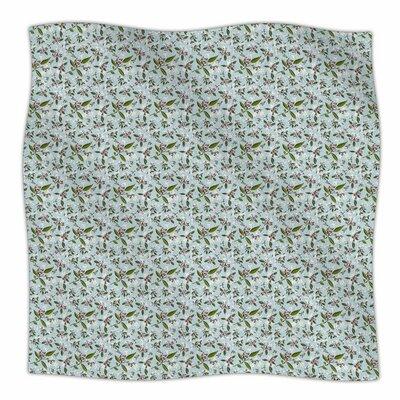 Jasmine by Mayacoa Studio Fleece Blanket Size: 80 L x 60 W