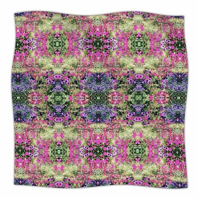 Cascade Reflections by Carolyn Greifeld Fleece Blanket Size: 80 L x 60 W