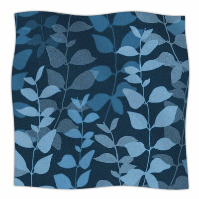 Leaves Of Dreams by Carolyn Greifeld Fleece Blanket Size: 80'' L x 60'' W