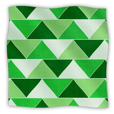 Emerald City by Catherine McDonald Fleece Blanket Size: 80'' L x 60'' W