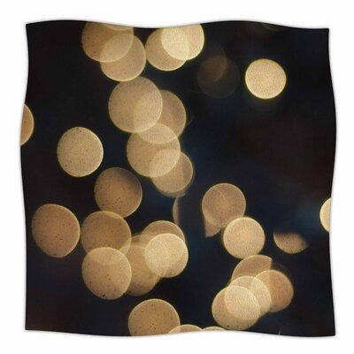 Blurred Lights by Cristina Mitchell Fleece Blanket Size: 80'' L x 60'' W