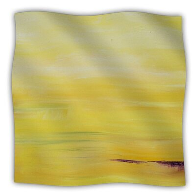 Sunrise by Cathy Rodgers Fleece Blanket Size: 80 L x 60 W