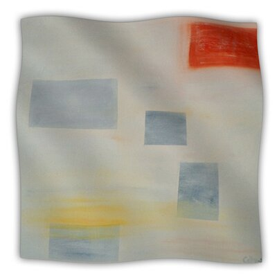 Map To Childhood by Cathy Rodgers Fleece Blanket Size: 80'' L x 60'' W