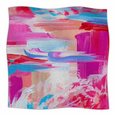 On The Move by Ebi Emporium Fleece Blanket Size: 80'' L x 60'' W
