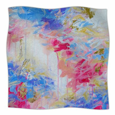 Whispered Song 1 by Ebi Emporium Fleece Blanket Size: 80 L x 60 W