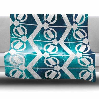 Storm by Matt Eklund Fleece Blanket Size: 80 L x 60 W