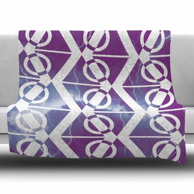 Mana Storm by Matt Eklund Fleece Blanket Size: 80 L x 60 W