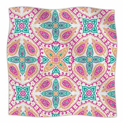 Boho by Nandita Singh Fleece Blanket Size: 80 L x 60 W