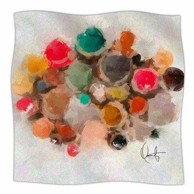 La Maddalena by Oriana Cordero Fleece Blanket Size: 80 L x 60 W
