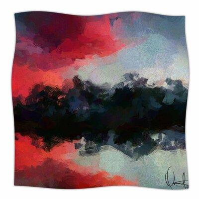 Montserrat by Oriana Cordero Fleece Blanket Size: 80 L x 60 W