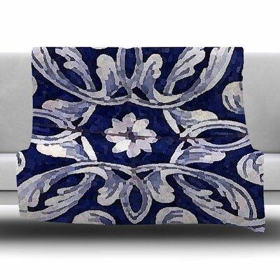 Lisboa by Oriana Cordero Fleece Blanket Size: 80 L x 60 W