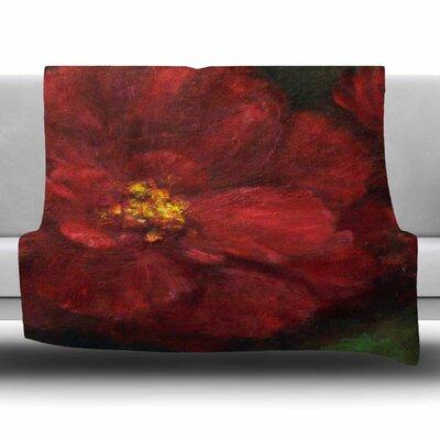 My Beauty by Cyndi Steen Fleece Blanket Size: 80 L x 60 W