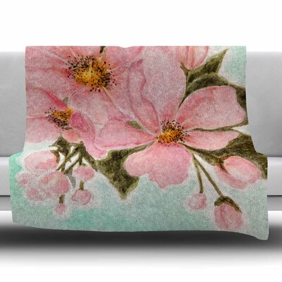 Fumiko by Christen Treat Fleece Blanket Size: 80 L x 60 W