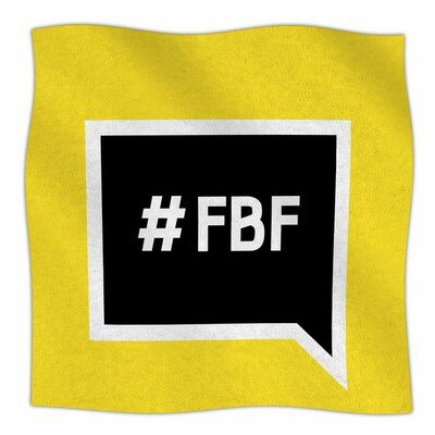 Flash Back Friday Fleece Blanket Size: 80 L x 60 W