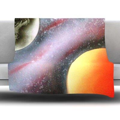 Alignment by Infinite Spray Art Fleece Blanket Size: 80 L x 60 W