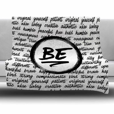 Be... by Noonday Design Fleece Blanket Size: 80 L x 60 W