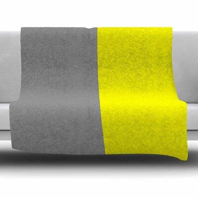 Polovina V.5 by Trebam Fleece Blanket Size: 80 L x 60 W