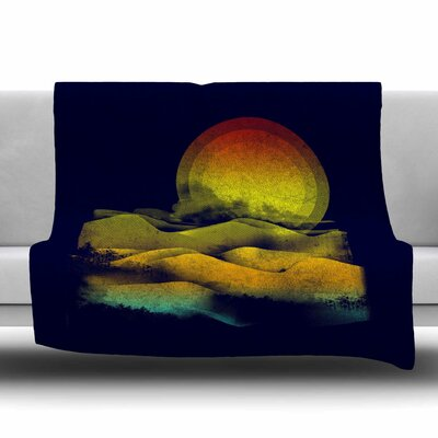 Sunset by Frederic Levy-Hadida Fleece Blanket