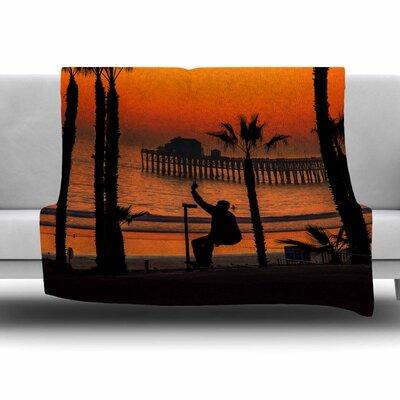 Endless Summer by Juan Paolo Fleece Blanket Size: 80 L x 60 W