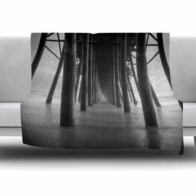 Vanishing Point by Juan Paolo Fleece Blanket Size: 80 L x 60 W